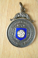 Medal- 1938 YORKSHIRE MINIATURE RIFLE ASSOCIATION~HRC, W H Edmunds(Org Hallmark)