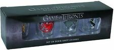 Game of Thrones Four Sigil Shot Glass Set (2013, Merchandise, Other)