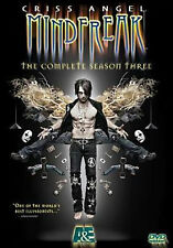 CRISS ANGEL: MINDFREAK - COMPLETE SEASON THREE - DVD - Region 1 - Sealed