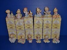 Precious Moments  12 Days of Christmas Ornaments Complete Set