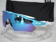 NEW OAKLEY RADAR EV PATH SUNGLASSES OO9208-03 Sky (Light Blue) / Sapphire Iridum