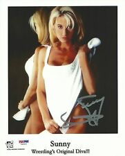 Sunny Signed 8x10 Photo PSA/DNA COA WWE Picture Autograph WWF Diva Tammy Sytch