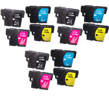 12 Non-FEO Compatible Avec Brother MFC-J410 MFC-J415W Cartouches D'encre