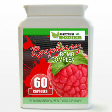 Raspberry Ketone BOMB Complex Weight Loss Diet STRONG Slimming Pills 60 Bottle