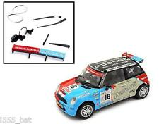 New Scalextric W9259 Barons Mini Cooper Wipers, Lenses, Spoiler, Mirrors C2733