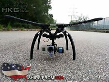 S500 Quadcopter Frame Kit PCB Version with Landing Gear FPV- Black Arms