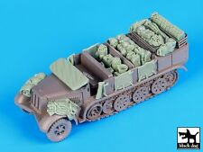 Black Dog 1/72 Sd.Kfz.7 Half-track Accessories Set (for Revell kit) T72078