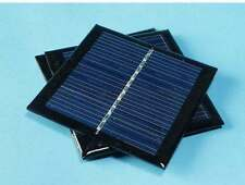 5.5v 0.6w 90mA mini solar panel for small solar system 65*65*3mm solar cells