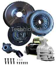 FORD MONDEO 2.2 ST DMF FLYWHEEL REPLACEMENT FLYWHEEL, STARTER, CLUTCH AND CSC