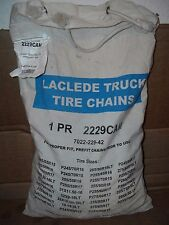 Laclede Truck Tire Snow Chains Stock # 2229CAM - Never Used