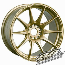 XXR 527 17x8.25 5x114.3 5x100 +35 Gold FRS BRZ Golf Bug Scion TC Corolla xB