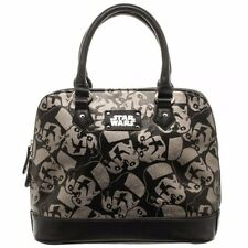 Star Wars Storm Trooper All Over Print Domed Satchel with Metal Charm