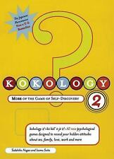 Kokology 2: More of the Game of Self-Discovery Nagao, Tadahiko, Saito, Isamu Pa