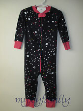 HANNA ANDERSSON Baby Organic Zip Sleeper Northern Lights Stars 60 6-9 months NWT