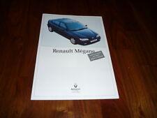 Renault Megane Prospekt 09/1995