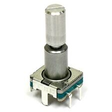 2pcs Alps Rotary Encoder w/ Momentary Switch 30 Detents / 360 Degrees - PC Board