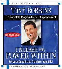 Unleash the Power Within by Tony Robbins (Audio CD – Audiobook, CD, Unabridged)