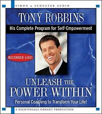 Unleash the Power Within by Tony Robbins [Audio CD, Audiobook] BRAND NEW