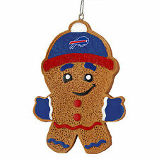 Buffalo Bills Gingerbread Man Christmas Tree Ornament NEW - RGB13