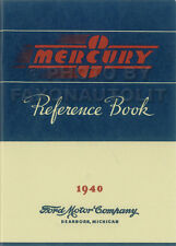 1940 Mercury Owners Manual 40 Owner Guide Reference Book for all models