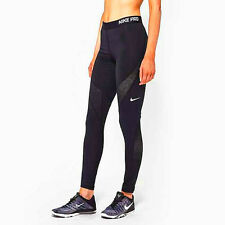Nike Pro Hypercool Compression Tights Ladies Size L Black