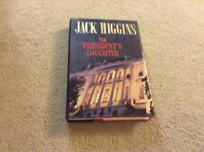 The President's Daughter by Jack Higgins (1997, Hardcover)