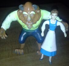Beauty and the Beast toy bendable figurines