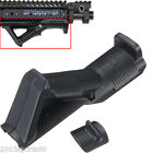 Hunting Black Angled Foregrip Hand Guard Front Grip for Picatinny Quad Rail #15