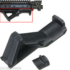 Hunting Black Angled Foregrip Hand Guard Front Grip for Picatinny Quad Rail #22