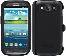NEW OtterBox Defender Series Case & Holster for Samsung Galaxy S3 Black