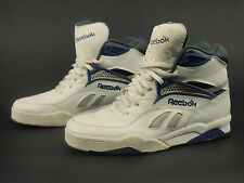 1980s REEBOK Vintage Leather Hexalite Hi Basketball Shoes 46.5 - 12