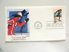 """January 6th, 1984 """"Cross Country Skiing"""" First Day Cover"""
