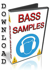 BASS SAMPLES - APPLE LOGIC PRO X EXS24- STUDIO / EXPRESS - HALION - NUENDO- WAV