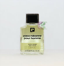 Paco Rabanne Pour Homme Aftershave 20ml Men Fragrances After Shave New