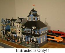 GET 100+  CUSTOM LEGO INSTRUCTIONS likeMODULAR TRAIN STATIONS 10219 Maersk Train