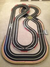 Scalextric Digital Large Layout with Double Loop / Crossover & 2 Cars *