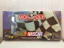 NASCAR Monopoly NIB Sealed Board Game Car Racing Collector's Edition 1997