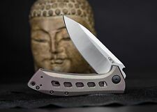 Zero Tolerance 801Ti Folding Knife Titanium Handle, S35VN Steel, USA, ZT0801Ti