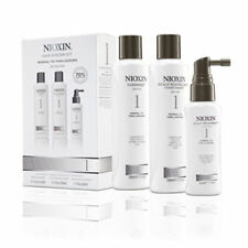 NIOXIN HAIR SYSTEM KIT 1 NORMAL THIN LOOKING CLEANSER CONDITIONER SCALP TREATMEN