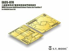 ET Model 1/35 #EA35070 Panther F Additional Armor Plates for Dragon