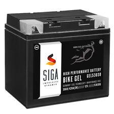 SIGA BIKE GEL Motorrad Rasentraktor Aufsitzmäher Batterie 30Ah 420A/EN 12V