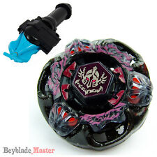 Fusion METAL Beyblade Masters BB-80 Gravity Perseus+BLUE STRING LAUNCHER+GRIP