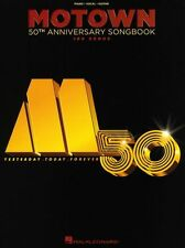 Motown 50th Anniversary Songbook Learn to Play Piano Vocal & Guitar Music Book