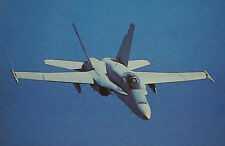 After The Battle McDonnell Douglas F/A-18 Hornet United States Navy Postcard