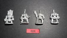 Warhammer EPIC 40K IMPERIAL SPACE MARINE DREADNOUGHTS x4 FULL SET R404