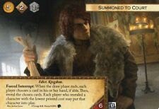 A Game of Thrones Card Game Summoned to Court x1 FANTASY FLIGHT GAMES FFG
