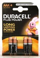 Confezione 4 Pile Batterie Duracell Plus Power AAA MiniStilo Lr03 Mn2400 hsb