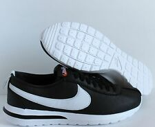 NIKE ROSHE CORTEZ NM SP BLACK-WHITE SZ 12 [806952-010]