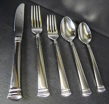 Lenox Federal Platinum 1 Five Piece Place Setting Knife Forks Spoons