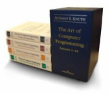 The Art of Computer Programming Vols. 1-4, Set by Donald E. Knuth (2011,...